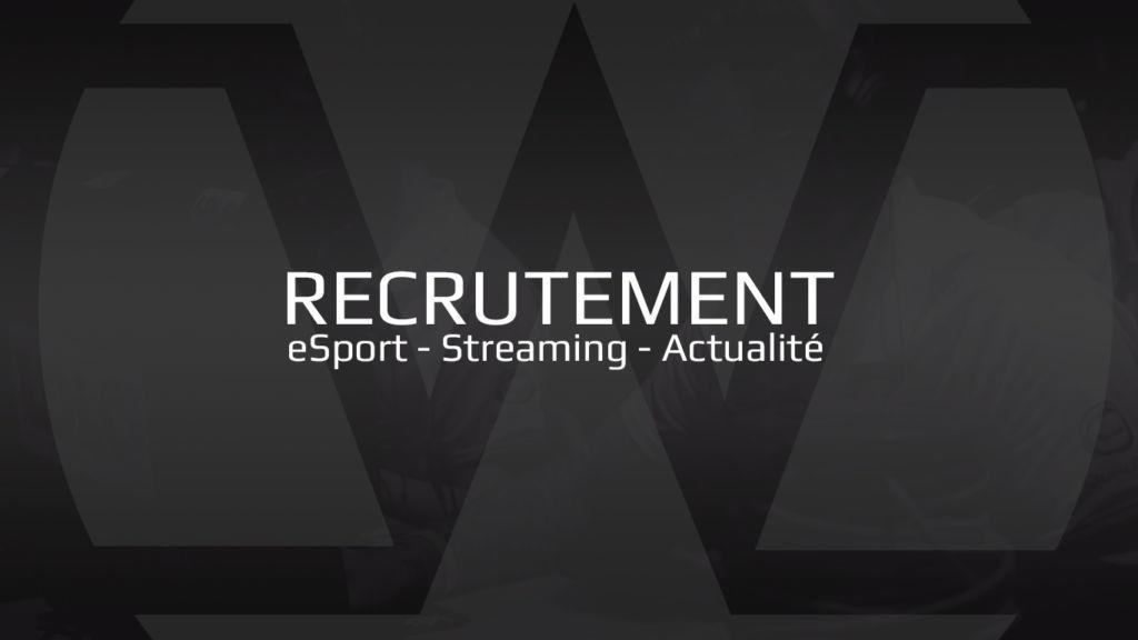 recrutement jeux vidéo