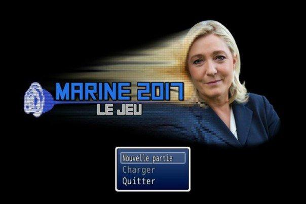 Le jeu vidéo de Marine Le Pen pour les présidentielles – Marine 2017 : Le Jeu