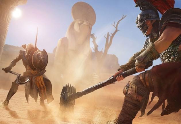 Oui ! Assassin's Creed s'est « Dark-Soulisé » pour les combats et s'est même fait « Witcherisé » pour son monde ouvert. Et alors ? Que de bonnes références pour avoir, manette en main, un résultat homogène.