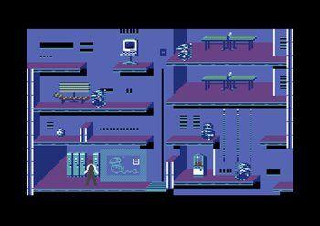 mini c64 jeux intergré