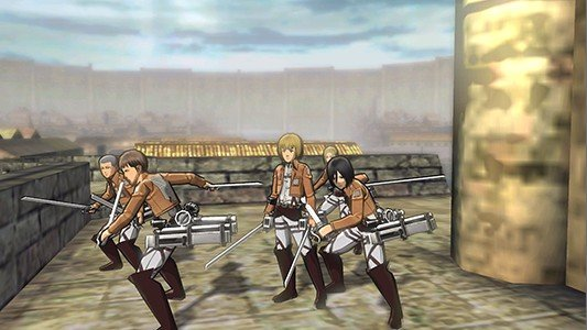 gameplay de aot 2
