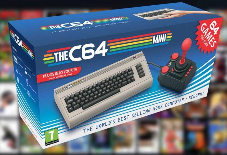C64 Mini : La date de sortie enfin dévoilée