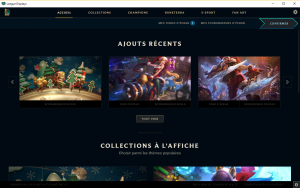 League display l 39 application de fond d 39 cran lol par for Configurer ecran pc