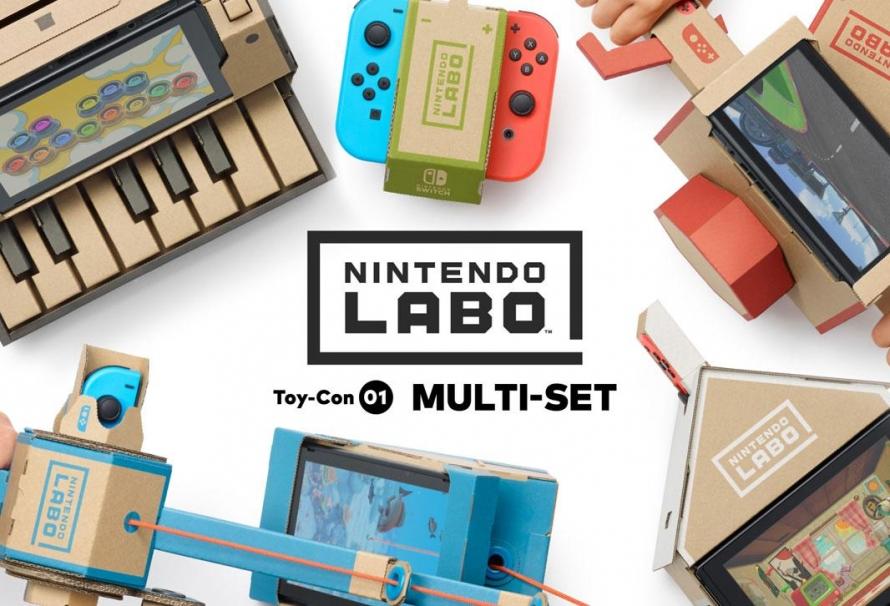 Nintendo Labo : Toutes les infos, nouveautés, … janvier 2018