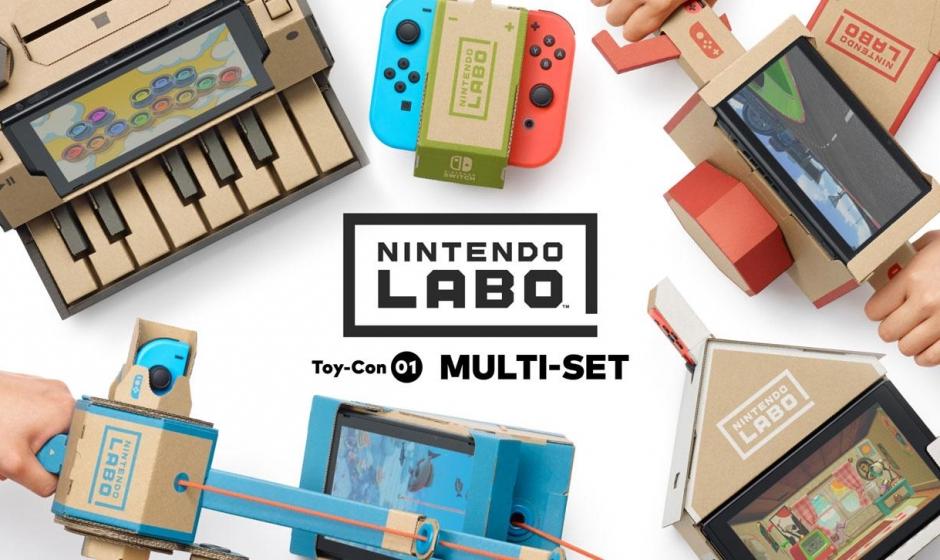 Nintendo Labo : Toutes les infos, nouveautés, ... janvier 2018