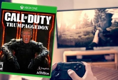 Donald Trump annonce la vente d'un avion de Call of Duty ...