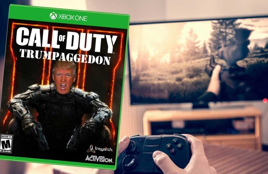 Donald Trump annonce la vente d'un avion de Call of Duty …