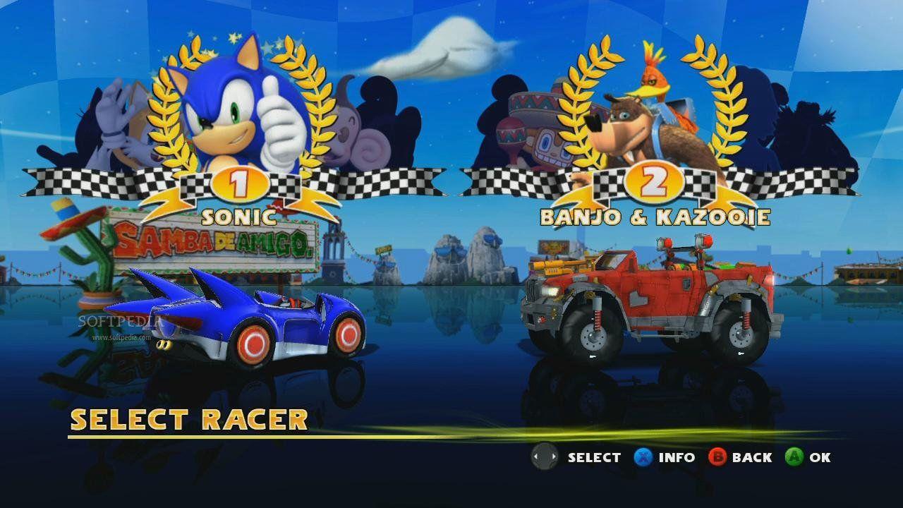 Sonic and sega all stars racing les rumeurs et nouveau - Jeu info sonic ...