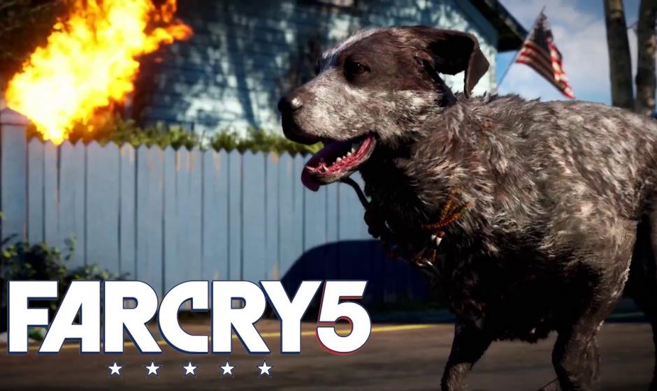 Far Cry 5 : Un trailer wouf