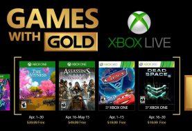 Xbox Live Gold : Les jeux gratuits d'avril