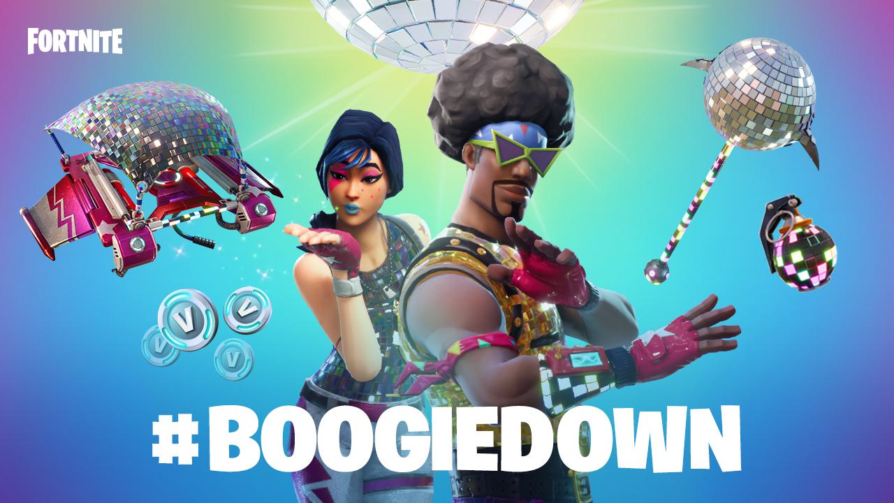 Fortnite BoogieDown résultat