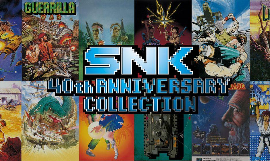 Nintendo : La SNK 40th Anniversary Collection arrive sur Switch !