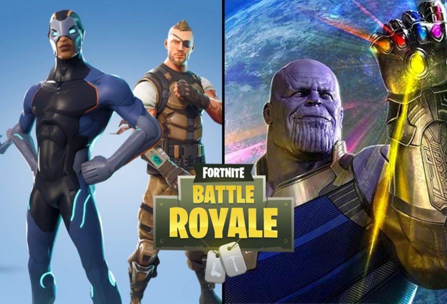 Fortnite : Prêt à prendre une tannée par Thanos