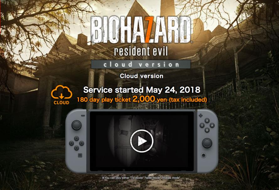 Resident Evil 7 : Le jeu arrive sur Switch grâce au Cloud Gaming !