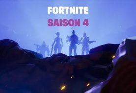 La saison 4 de Fortnite a commencé !