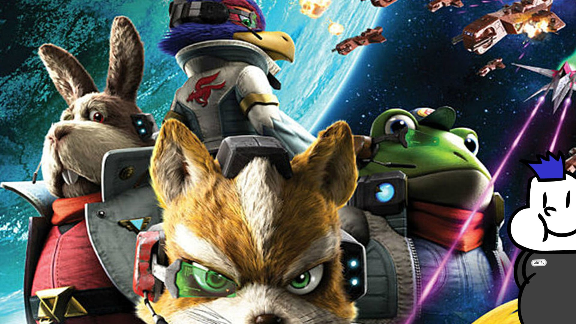 Star Fox course