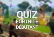 Quiz Fortnite Battle Royale : Débutant