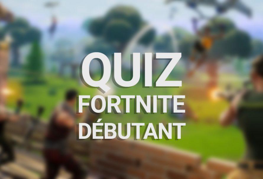 Quiz Fortnite Battle Royale : Débutant