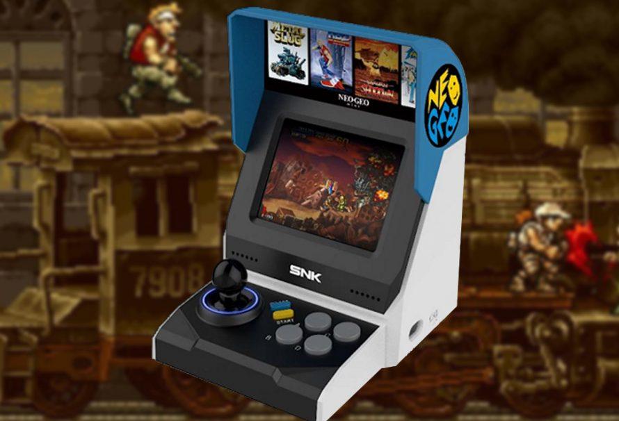 SNK confirme l'arrivée d'une Neo Geo Mini