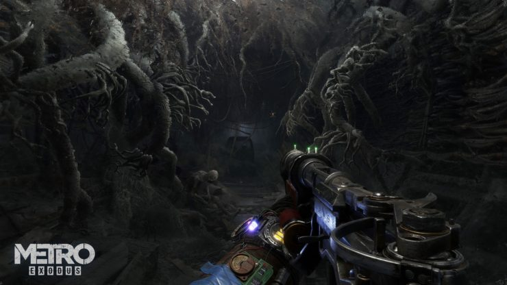 Une cave dans Metro Exodus