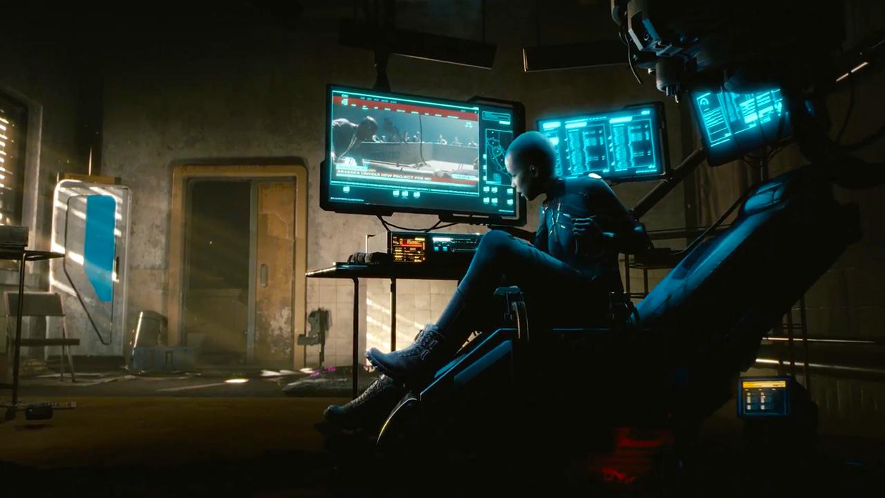 fiche de jeux vidéo pour cyberpunk 2077