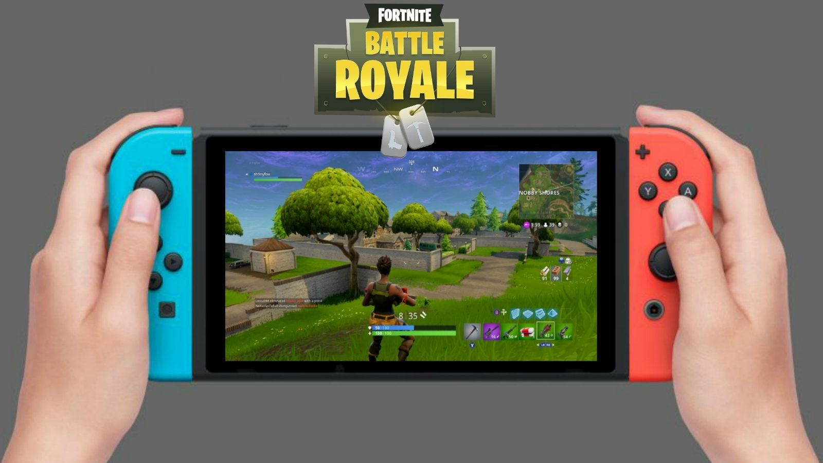 Date sortie fortnite sur switch officiel