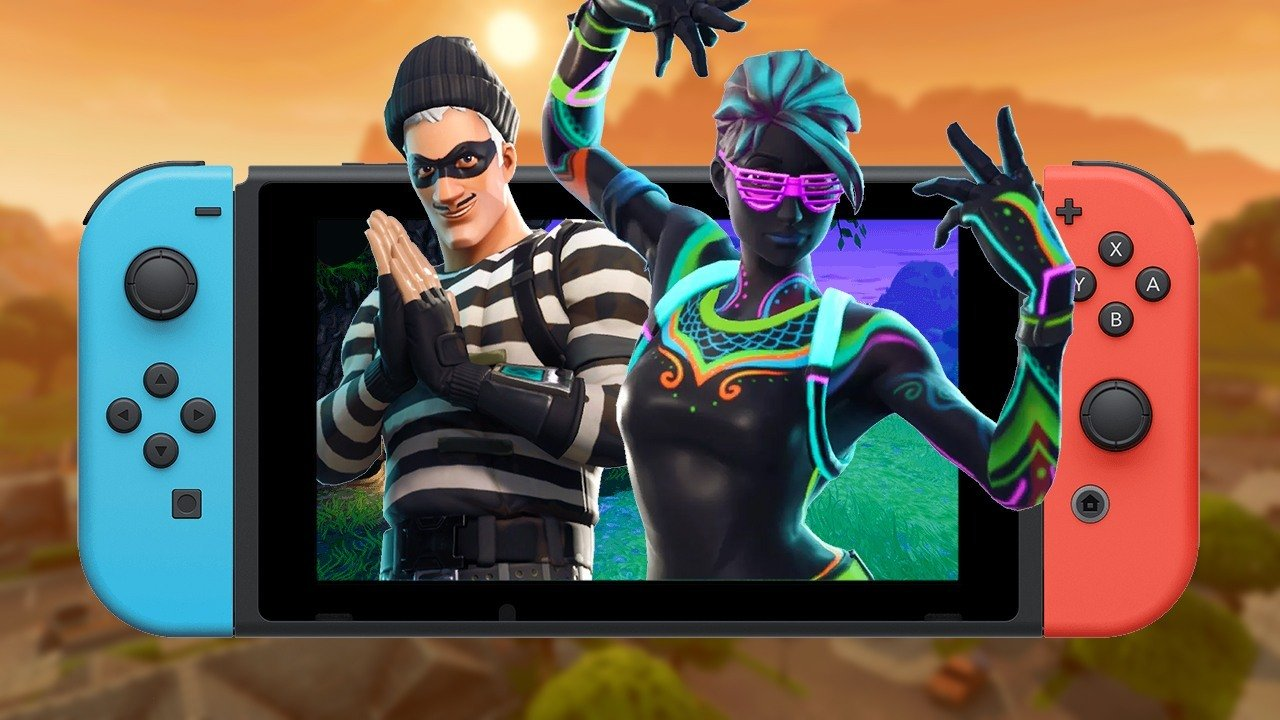 Fortnite sur Switch pour e3 2018