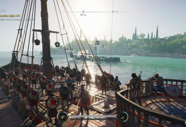 Vue de bataille navale