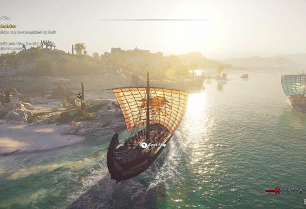 Un déplacement en bateau