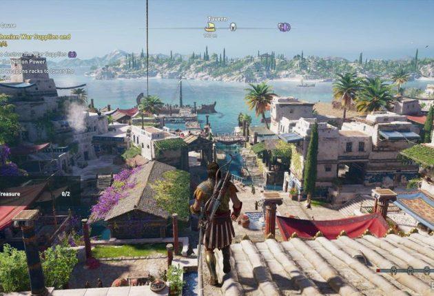 Une belle vue de la ville