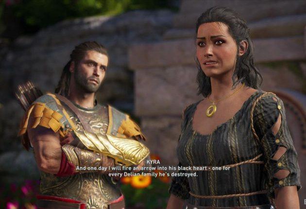 Le protagoniste et Kyra
