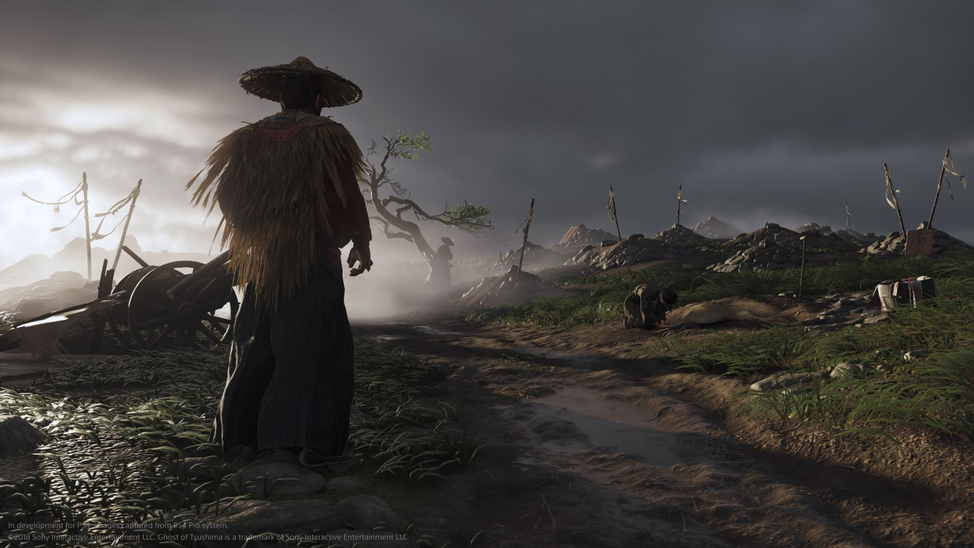 ghost of tsushima trailer de l'E3 2018