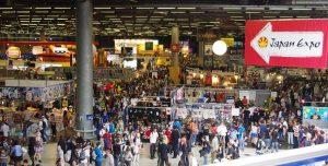 hall de la japan expo 2018