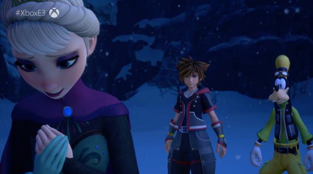 E3 2018 : Kingdom Hearts III adopte la Reine des Neiges