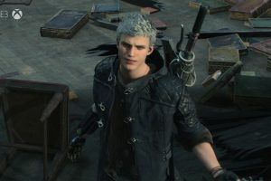 Dante dans Devil May Cry 5