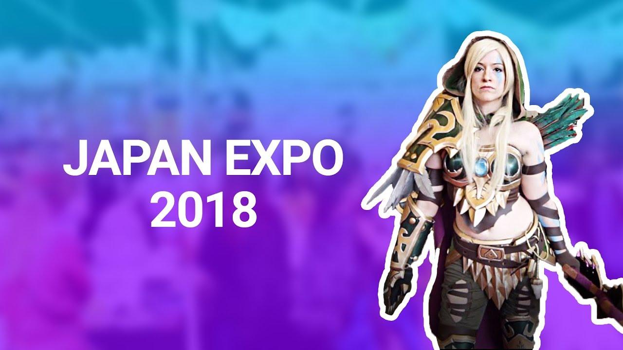 cosplay à la japan expo 2018