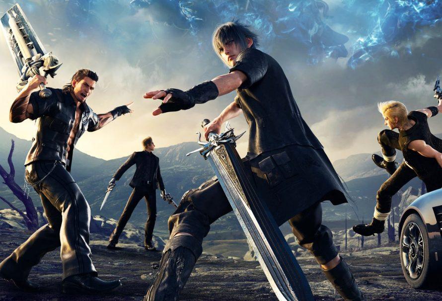 Les Power Rangers débarquent dans Final Fantasy XV