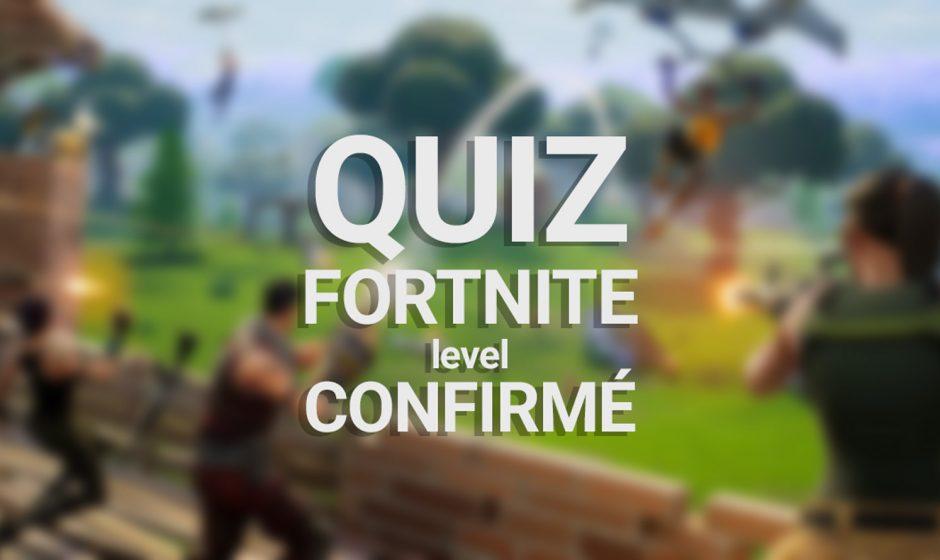 Quiz Fortnite Battle Royale : Confirmé