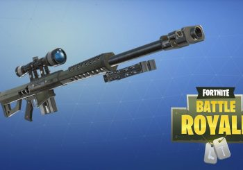 Fortnite : Le sniper lourd débarque en Battle Royale