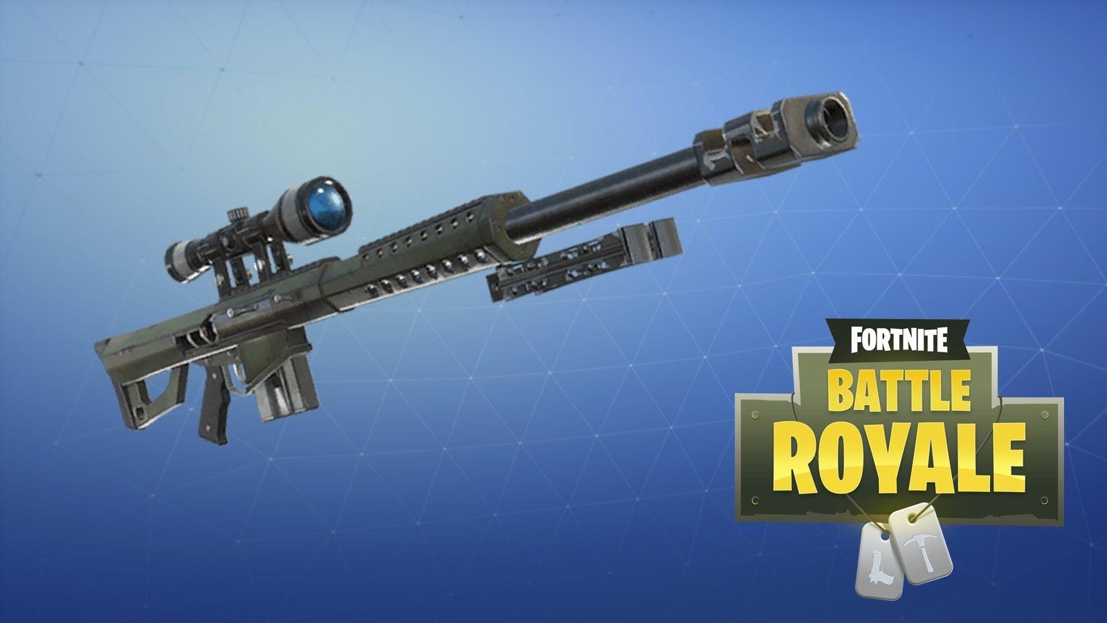 nouveau sniper lourd sur fortnite