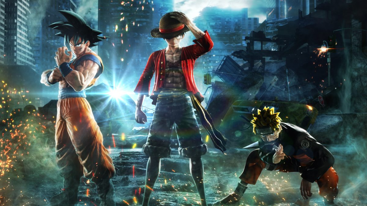 paris game week 2018 jump force bandai namco