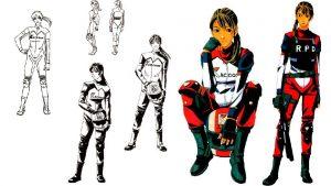 Elza Walker Resident Evil 2 RE2