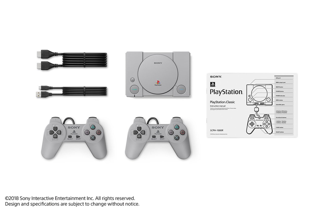 Line-up Playstation Classic