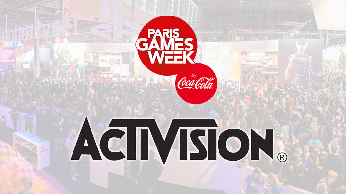 lineup pgw 2018 activision