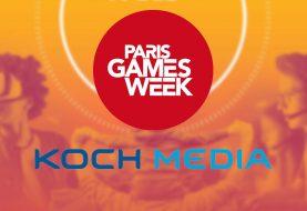 Line up Koch Media de la PGW 2018