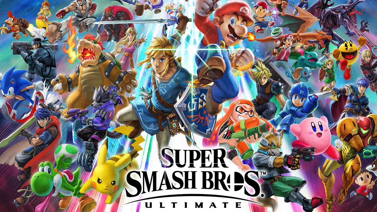Super Smash Bros Ultimate Nintendo Switch 2018