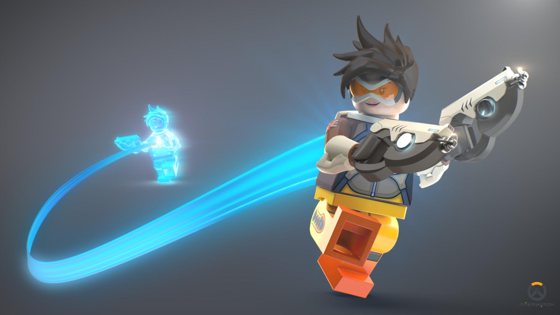 overwatch tracer en lego