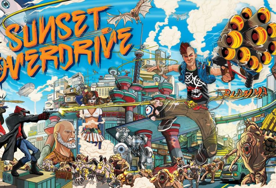 Amazon officialise la date de sortie de Sunset Overdrive sur PC