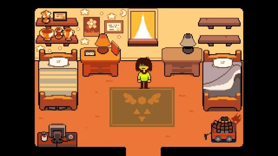 Delta Rune 2018 bedroom Toby Fox