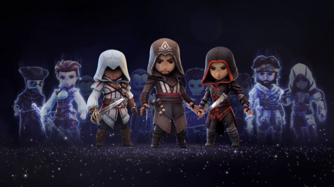 assassin's creed rebellion sur iOS et Android